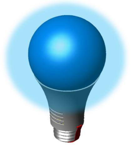 A Light BLUE