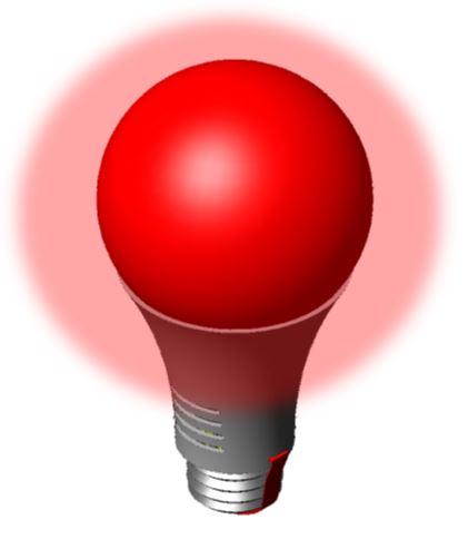 A Light RED